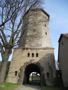 Der Turm wurde 1913 fertiggestellt.