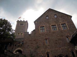 Der Bergfried und das innere Torhaus
