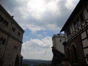 Der zweite Burghof