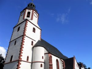 "Die Kirche ""St. Michaelis"" (1233 erbaut)"