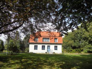 """Das Haus """"Werk"""" wurde 1916 gebaut und diente der Farbforschung und der Herstellung von Anschauungs- und Schulungsmaterial."""