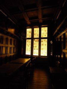 Die Lübecker Weinstube von 1644 wurde um 1900 aufgegeben und danach in das Landesmuseum überführt.