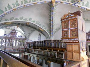 Die Schlosskapelle ist der am besten erhaltene Raum des Schlosses.