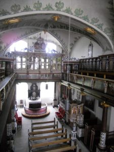 Die Kapelle wurde in Jahren 1585 bis 1590 im Stil der Renaissance gebaut.