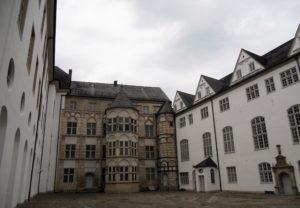 Der Schlosshof mit Renaissancefassade