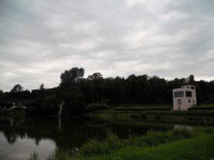 Der Neuwerkgarten mit dem Globushaus