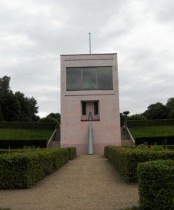 Von 1650 bis 1768 stand an dieser Stelle ein Lustschloss. Der jetzige Neubau wurde 2008 errichtet.