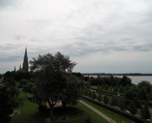 Blick vom Aussichtsturm am Wiesendamm