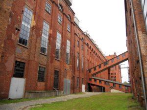 Die ehemalige Brikettfabrik