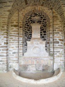 Das Gewölbe der alten Wasserburg