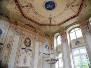 Der Barocksaal im Erdgeschoss