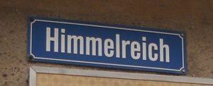 In Mühlberg kann man tatsächlich im Himmelreich wohnen.