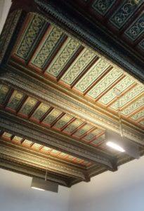 Die Decke der Kammer zur Ratsstube