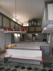 Die Orgel wurde im Jahr 1788 aufgestellt. Über ihr genaues Alter oder die Herkunft ist nichts bekannt.