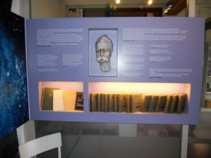 Der Ausstellungsraum im Nebengebäude des Geburtshauses