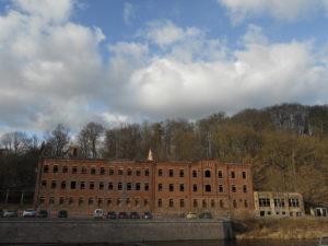 Die ehemalige Spindelfabrik wird vermutlich bald abgerissen.