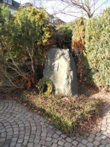 Der Gedenkstein zur Erinnerung an die Verurteilten der Waldheimer Prozesse. Die politischen Prozesse fanden von April bis Juni 1950 statt. Die Angeklagten , denen nationalsozialistische Verbrechen vorgeworfen wurden, wurden im Schnellverfahren ohne Verteidiger und Zeugen verurteilt.