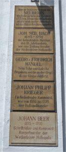 Der herzogliche Hof zog viele Künstler nach Weißenfels.