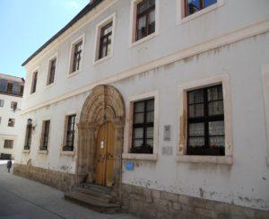Das Kantorenhaus wurde um 1470 errichtet und zählt zu den ältesten noch erhaltenen Wohnhäusern der Stadt.
