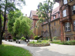 Das Goethegymnasium wurde in den Jahren 1912 bis 1914 errichtet.