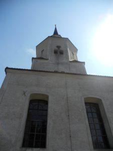 Der Turm stammt aus dem Jahr 1716.