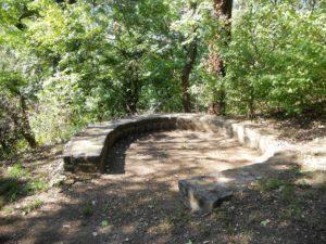 Die Reste der befestigten Vorburg
