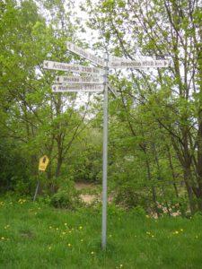 Viele Wege führen aus Bad Düben.
