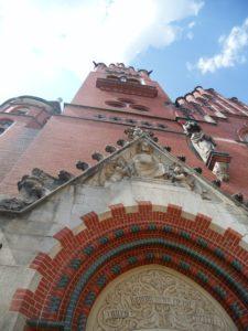 Brüderkirche, 1902-1905 erbaut