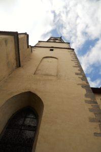 Franziskanerkloster, vor 1256 Kirche und Kloster erbaut, 1270 bei Stadtbrand zerstört, 1285 Weihe des Neubaus