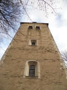 Dorfkirche 1275 urkundlich erwähnt 1734 abgebrannt