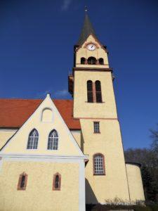 Pfarrkirche Hohnstädt erbaut im 13. Jahrhundert 1652-1661 Umbau 1857-1895 Umbau und Erweiterung