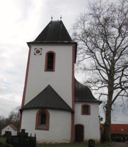 Martin-Luther-Kirche um 1150 erbaut