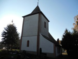 Heilig-Kreuz-Kirche um 1700 erbaut