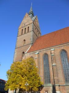Marktkirche St. Georgii et Jacobi um 1125 Vorgängerbau 1347-1360 erbaut