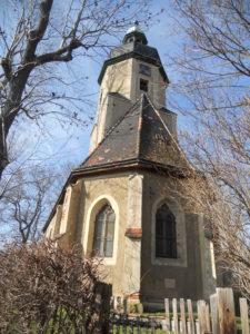 Pfarrkirche Imnitz im 16. Jahrhundert erbaut