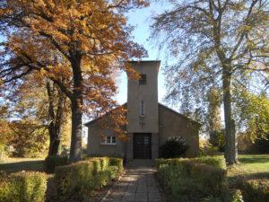 Johanniskirche Dösen 1934 erbaut