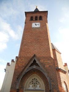 Schlosskirche Lützschena im 16. Jahrhundert erbaut 1855 Kirchenumbau und Turmanbau