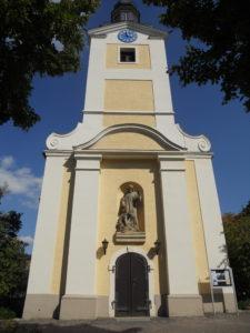 Marienkirche Stötteritz 1702/03 erbaut