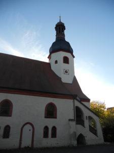 Auenkirche 1612 Vorgängerbau abgebrannt bis 1627 Neubau