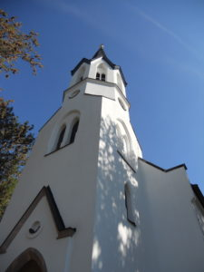 Pfarrkirche Großstädteln 1880 erbaut