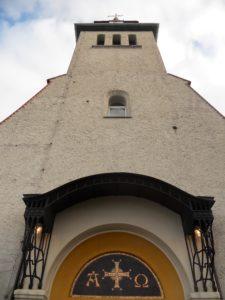 Kirche Mölkau, 1614 erbaut, 1710 nach Teilabriss erneuert, 1906 umfassende Renovierung