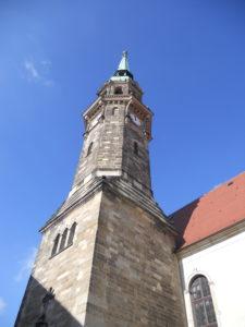 Stadtkirche zum Heiligen Namen Gottes 1486-1498 erbaut