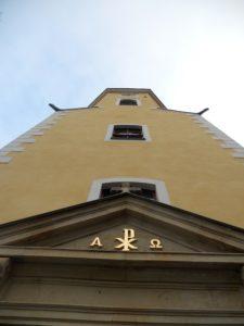 Stadtkirche 1350 erstmals urkundlich erwähnt 1789 Turmbau