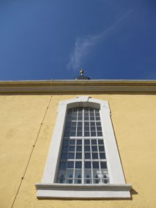 Dorfkirche 1736-1749 erbaut 1836 Anbau der Sakristei 2003 letzte Außensanierung