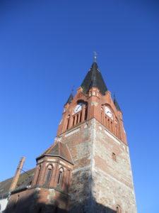 Stadtkirche St. Albanus um 1517 errichtet.