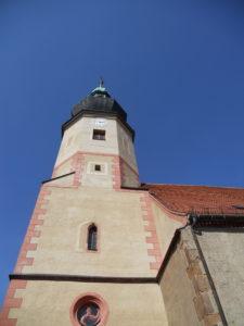 Stadtkirche um 1150 erbaut 1552-1661 Turmbau