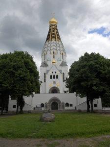 Russisch-Orthodoxe Gedächtniskirche St. Alexi 1912-1913 erbaut