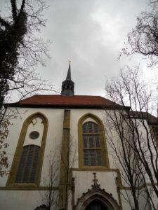 Museum Kirche zum Heiligen Kreuz Ende des 14. Jahrhunderts erbaut 1972 Entwidmung