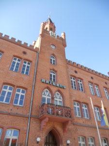 Historisches Rathaus in Bitterfeld