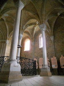 Der obere Teil der Doppelkapelle entstand zwischen 1180 bis 1220.
